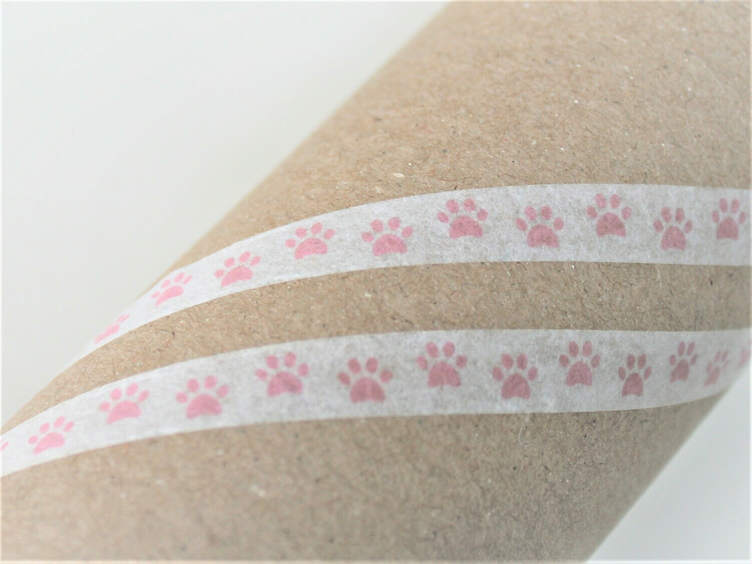 Pink Paws Washi Tape 8mm