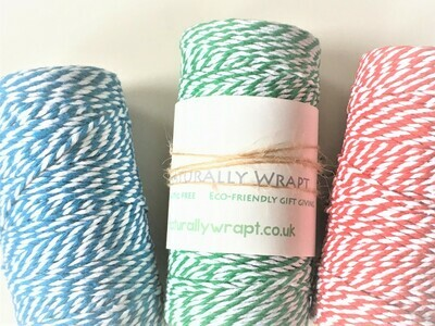 Bakers Twine 100m - 2 colours
