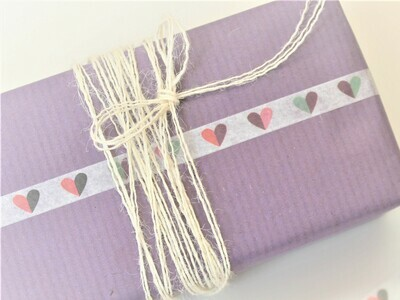 Colourful Hearts Washi Tape
