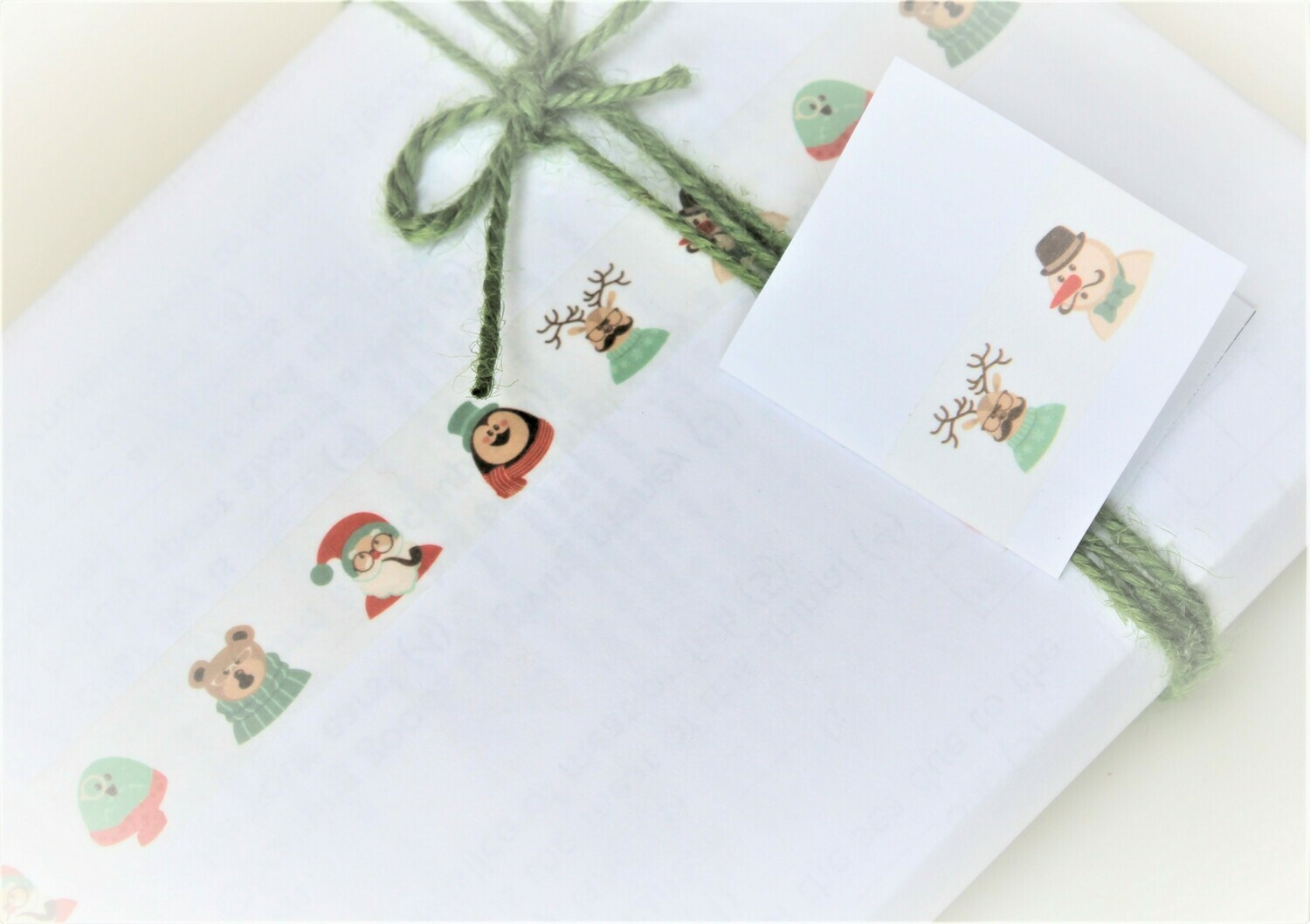 Cosy Christmas Scarves Washi Tape 15mm