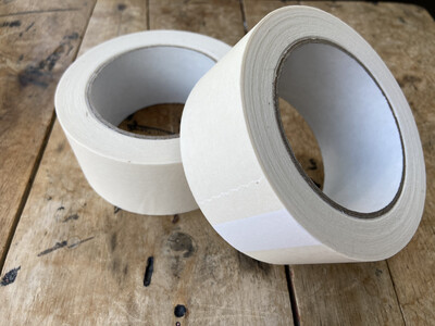 White Paper Tape  48mm