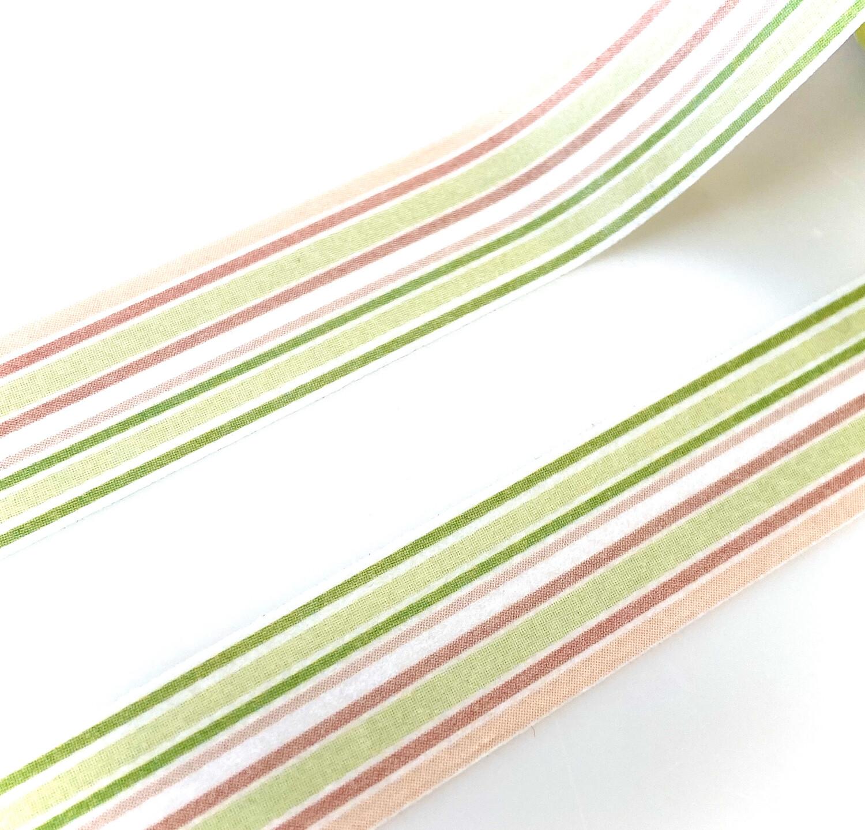 Apricot Stripe Washi Tape 15mm