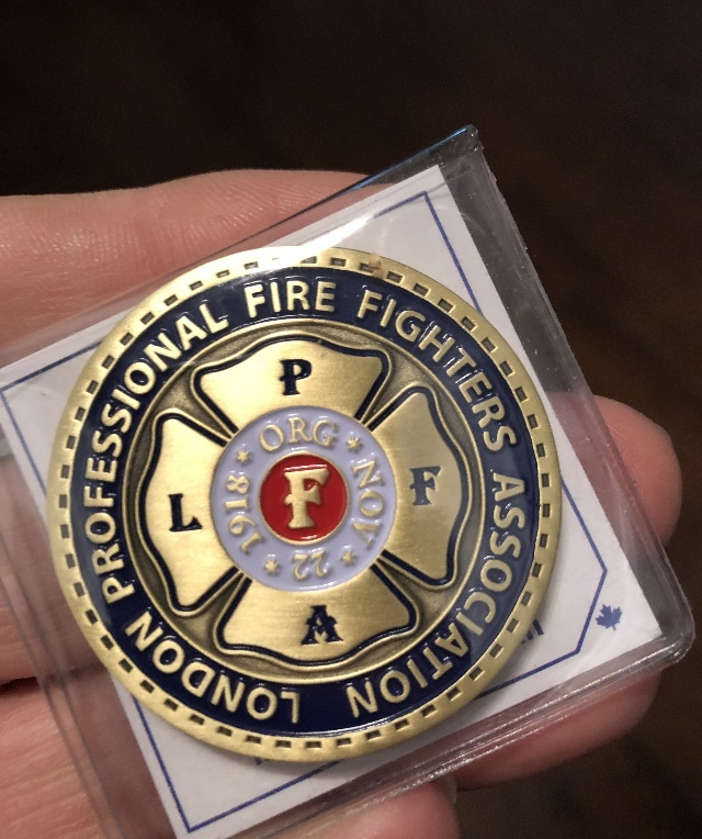 LPFFA 100th Anniversary Challenge Coin - QTY (5 Coin Pack)