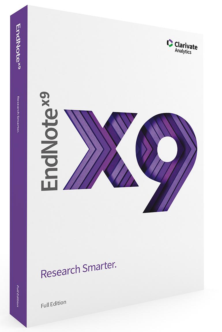 EndNote X9 Multi-User - Volumen- oder Standortlizenz (Mehrfachbenutzer/Workstation)