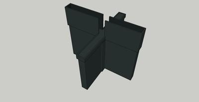 Elevated Plus Maze - Black - Rat