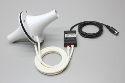 Spirometer with reuseable 1000 Liter flow head