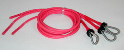 Set of three child red Digital Ring Electrodes