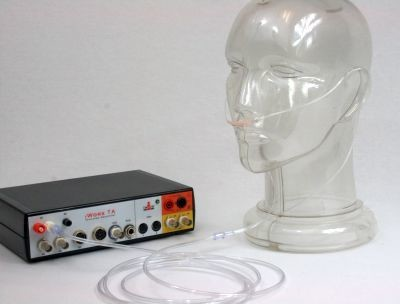Respiration monitor using a nasal cannula for the IX-TA-220. case of 25