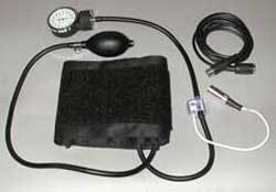 Non-Invasive Blood Pressure Sensor with DIN8 connector