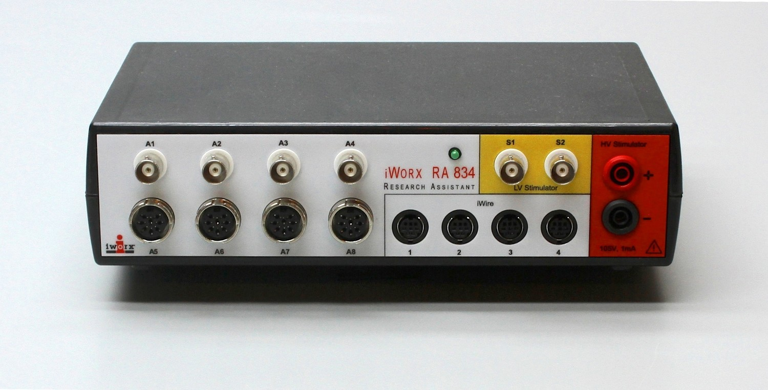 IX-RA-834 10 Channel Recorder and Stimulator