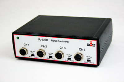 Four Channel Transducer Interface with DIN8 female input connectors
