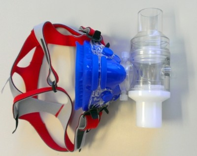 Extra Small Mask, Head Gear, adapter and 2 Way Non-Rebreathing Valve