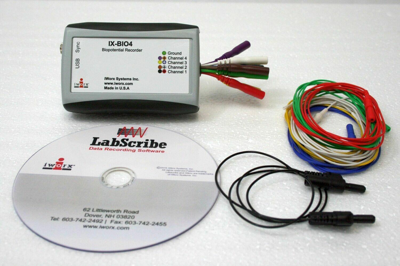 IX-BIO4-SA Small Animal ECG/EMG System