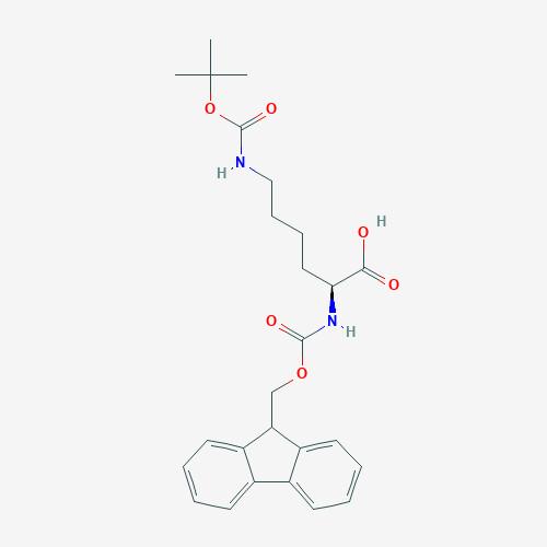FMoc-Lysine (BOC)-OH - 71989-26-9 - N-alpha-FMOC-Nepsilon-BOC-L-Lysine - C26H32N2O6