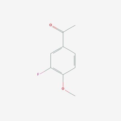 3-Fluoro 4-Methoxy Acetophenone - 455-91-4 - 1-(3-Fluoro-4-methoxyphenyl)ethanone - C9H9FO2