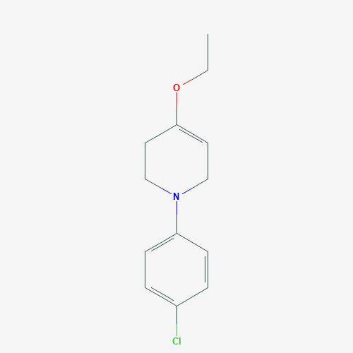 1-(4-chlorophenyl)-4-ethoxy-1,2,3,6-tetrahydropyridine - C13H16ClNO