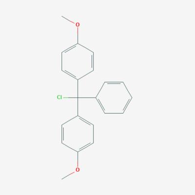Dimethoxy Trityl chloride - 40615-36-9 - 4,4'-(chloro(phenyl)methylene)bis(methoxybenzene) - C21H19ClO2