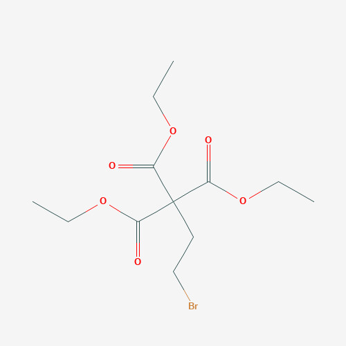 Ethyl 3-bromopropane-1,1,1-tricarboxylate - 71170-82-6 - (2-bromoethyl)-1,1,1-tricarbethoxymethane - C12H19BrO6