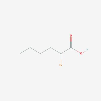 2-Bromo Hexanoic acid - 616-05-7 - DL-2-Bromohexanoic acid - C6H11BrO2