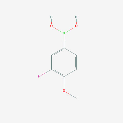 3-Fluoro-4-methoxy phenyl boronic acid - 149507-26-6 - 3-Fluoro-4-methoxybenzeneboronic acid - C7H8BFO3