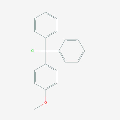 Mono Methoxy trityl chloride - 14470-28-1 - 4-Methoxytriphenylchloromethane - C20H17ClO
