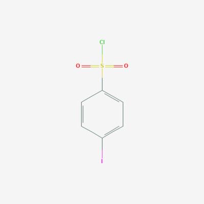 4-Iodo-benzene sulfonyl chloride - 98-61-3 - Pipsyl chloride - C6H4ClIO2S
