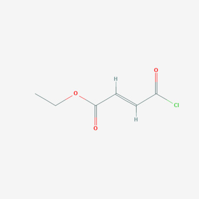 3-Chloro carbonyl acrylic acid ethyl ester - 26367-48-6 - Ethyl fumaroyl chloride - C6H7ClO3