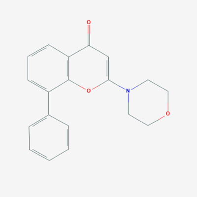 2-Morpholino-8-Phenyl-4H-1-benzopyran-4-one - 154447-36-6 - 2-(4-Morpholinyl)-8-phenyl-4H-1-benzopyran-4-one - C19H17NO3