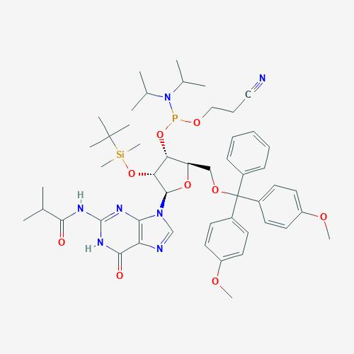 5'-O-DMT-2'-OTBDMS N-iBu Guanosine Phosphoramidite (Amidite) - CAS No. 147201-04-5