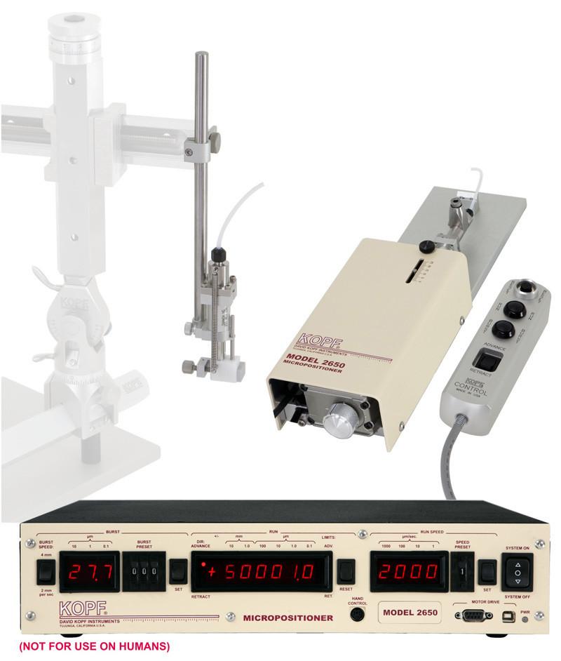 Model 2650 Micropositioner