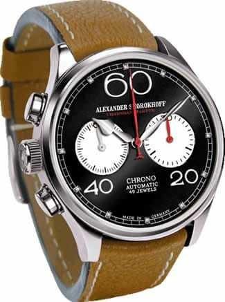 Alexander Shorokhoff Linkshander Uhr