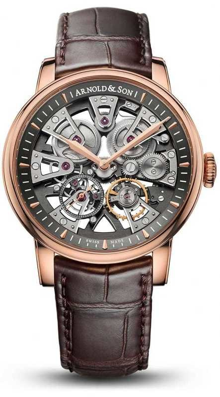 Arnold & Son Nebula Gold Case 1NEAR.S01A.D135A