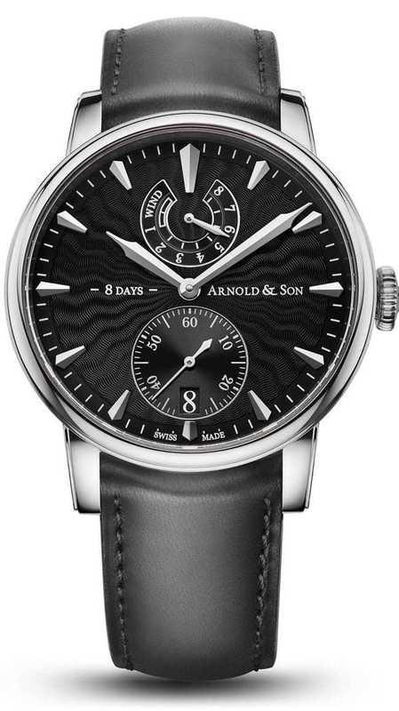 Arnold & Son Eight-Day Royal Navy Black Dial 1EDAS.B01A.D134A