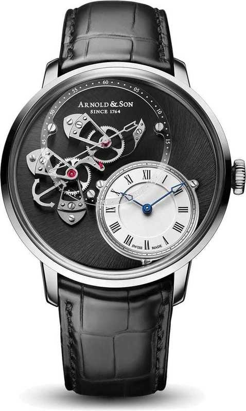 Arnold & Son DSTB Stainless Steel 1ATAS.S02A.C121S