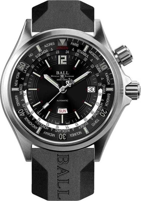 Ball Watch Engineer Master II Diver Worldtime DG2022A-P3A-BK