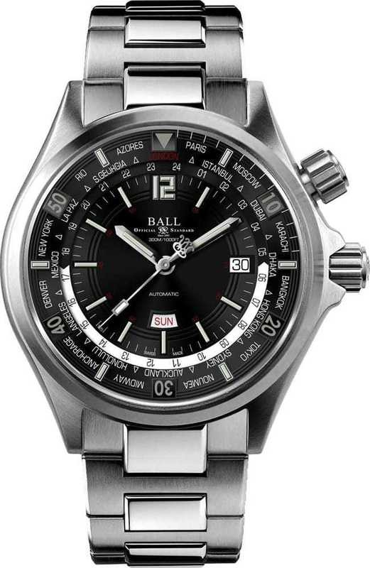 Ball Watch Engineer Master II Diver Worldtime DG2022A-S3A-BK