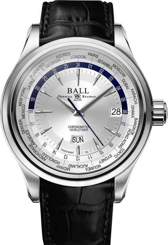 Ball Watch Trainmaster World Time Ball Trainmaster World Time GM2020D-LL1CJ-SL