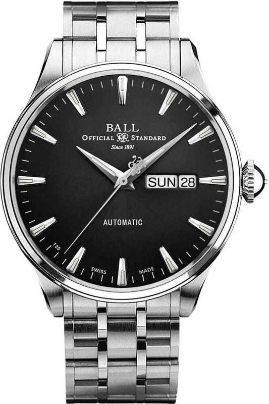 Ball Watch Trainmaster Eternity NM2080D-S1J-BK