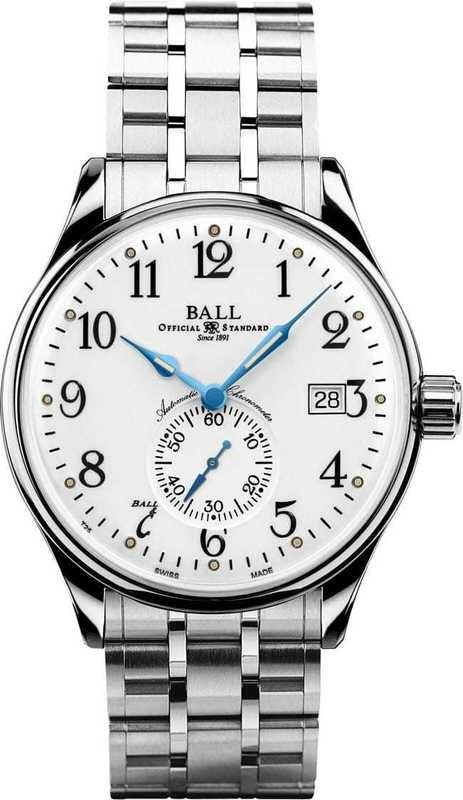 Ball Watch Trainmaster Standard Time NM3888D-S1CJ-WH