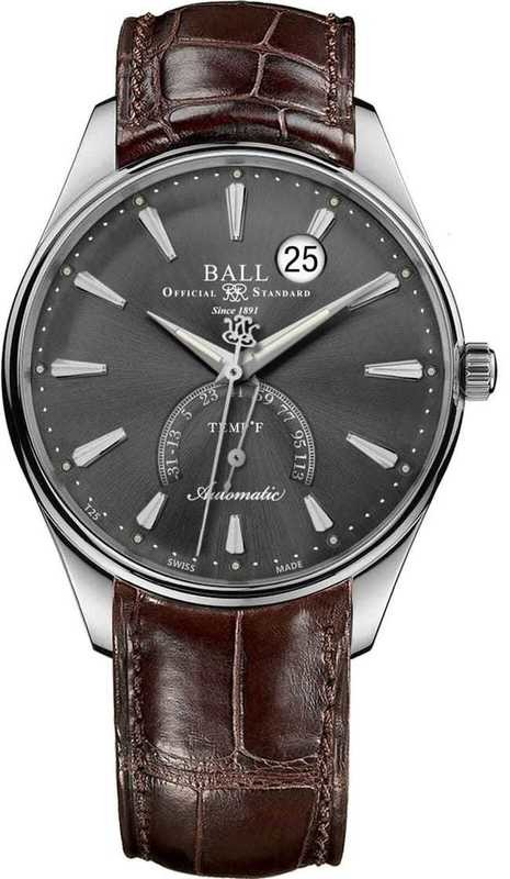 Ball Watch Trainmaster Kelvin Fahrenheit Scale NT3888D-LL1J-GYF