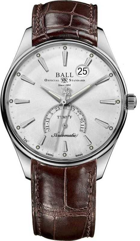 Ball Watch Trainmaster Kelvin Fahrenheit Scale NT3888D-LL1J-SLF