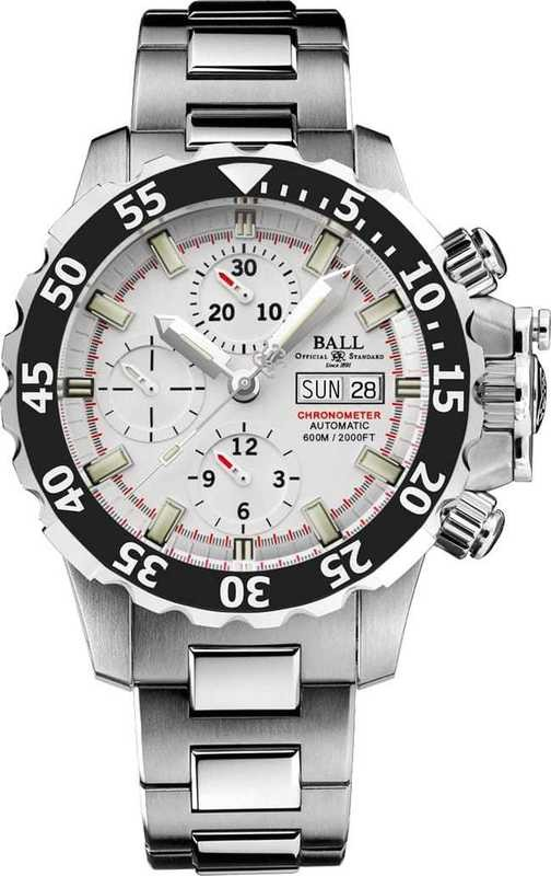 Ball Watch Engineer Hydrocarbon Nedu Titanium ChronographDC3026A-SC-WH