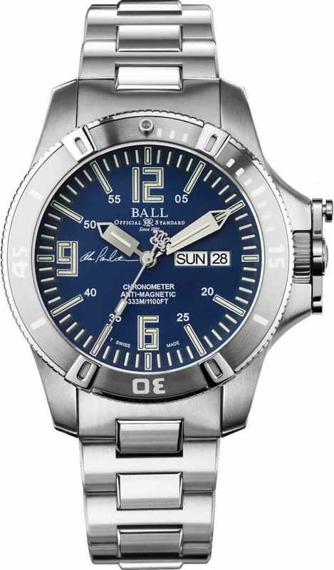 Ball Watch Engineer Hydrocarbon Spacemaster Captain Poindexter DM2036A-S5CA-BE