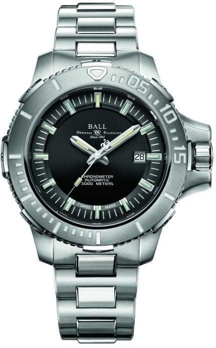 Ball Watch Engineer Hydrocarbon DeepQuest 3000M DM3000A-SCJ-BK