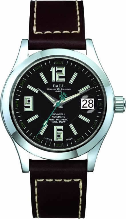 Ball Watch Engineer II Arabic 40mm NM1020C-L4-BK