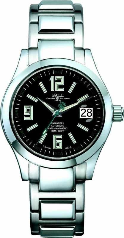 Ball Watch Engineer II Arabic NM1020C-S4-BK