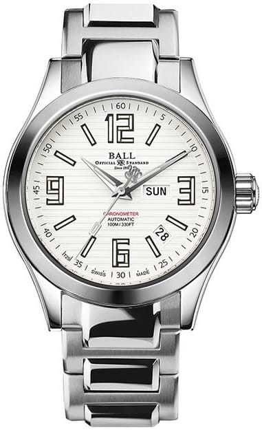Ball Watch Engineer II Arabic Chronometer NM2026C-S2CA-WH