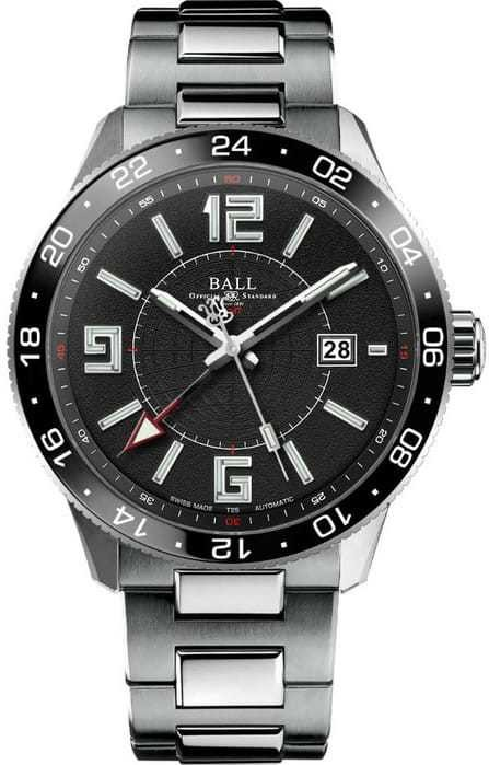 Ball Watch Engineer Master II Pilot GMTGM3090-SAJ-BK