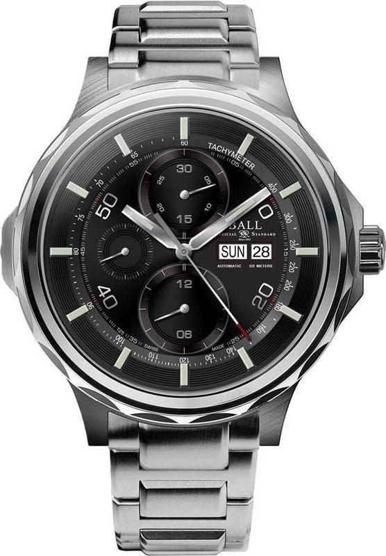 Ball Watch Engineer Master II Slide Chronograph CM3888C-S1J-BK