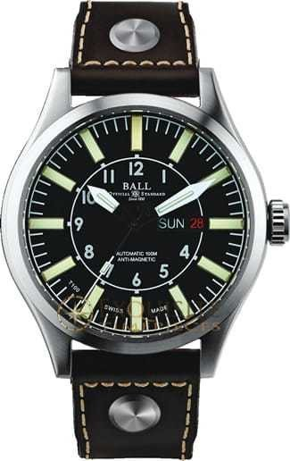 Ball Watch Engineer Master II Aviator NM1080C-L3-BK